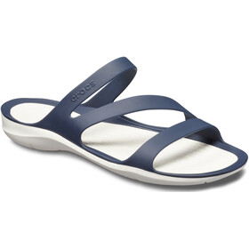 Crocs Swiftwater Sandalias Mujer, azul/blanco